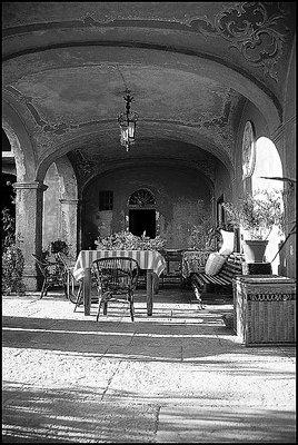 A Old portico...