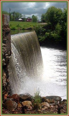 Brushton Dam