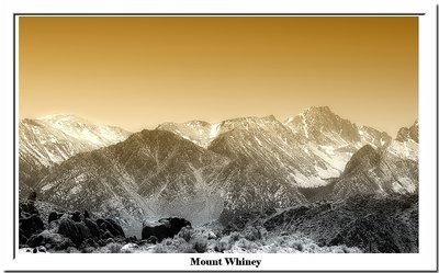 Mount Whitney , the summit