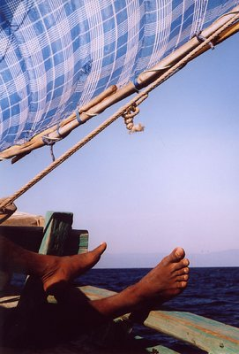Feet at Sea - East Timor