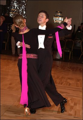 Too much emotion?! Ballroom dance.