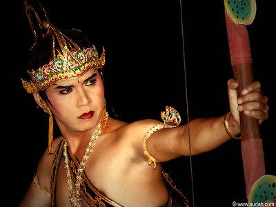The Ramayana Dancer