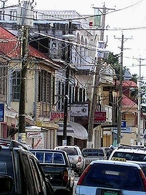 downtown belize