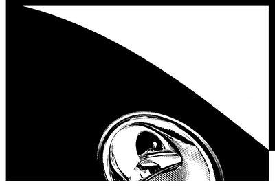 Volkswagen eye abstraction