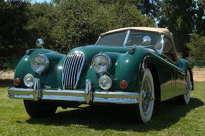 Old Fashion Car - Jaguar 1955