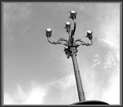 lamp post....
