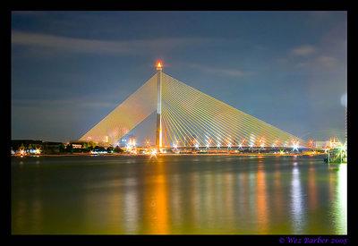 Rama 8 Bridge, Bangkok
