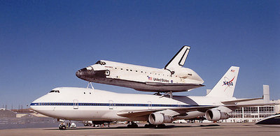 Space Shuttle Piggy Back