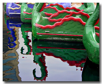 Dragon Boat Reflections 2
