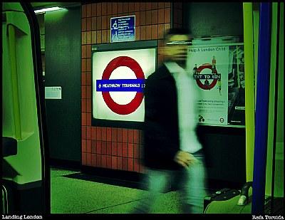 Landing London