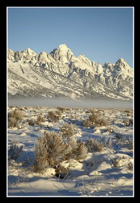 Tetons with Snow