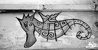 dragon on the wall...