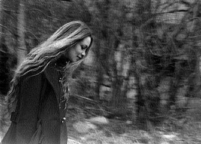 as she walks away