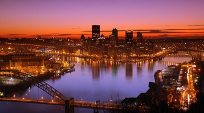 Sunrise Over the Steel City