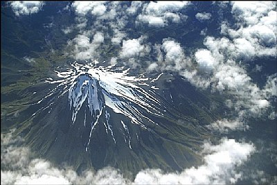 Over Mt Taranaki