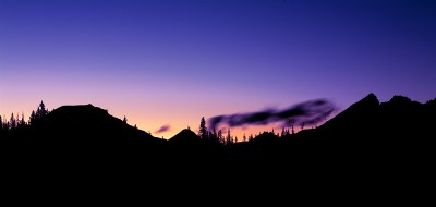 Oregon Sister's Sunset
