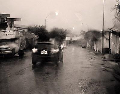 Wet and rainy