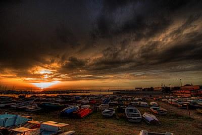 rainy sunset #2 HDR version