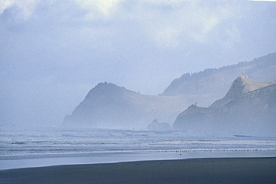 Cascade Head in the Mist