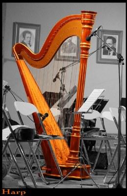 color harp in desaturation