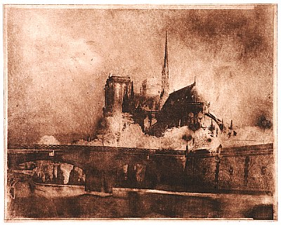 Notre Dame de Paris in Gravure