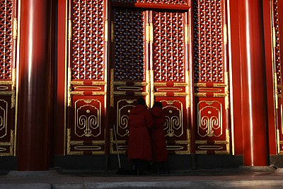 Opening the Summer Palace Doors