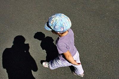 walk on ..(the photographer..)