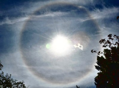 Solar Halo in Heat