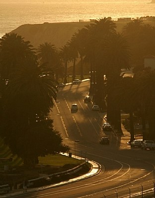 The Street in San Pedro