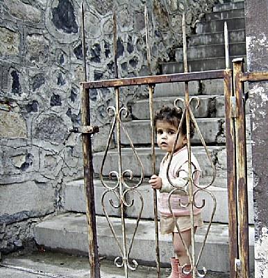 a child in Beypazari