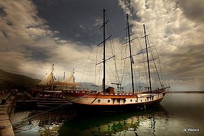 Mooring of the Black Pearl