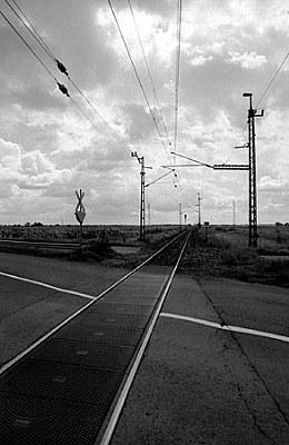 Clouds, tracks & strip