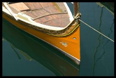 Orange Boat