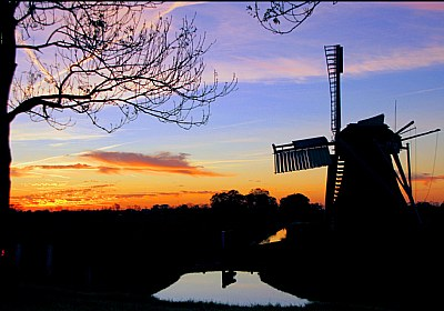 Mill Silhouet