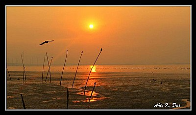 Sunset at Sagar Vihar