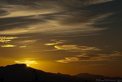...il sole ci saluta a domani