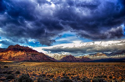 Weather moods in Red Rock