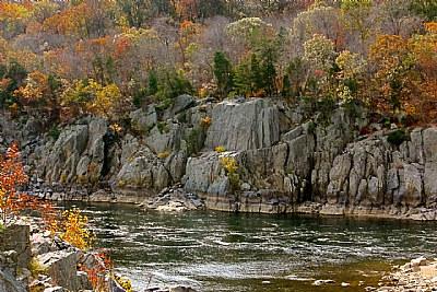 Potomac River in Autumn