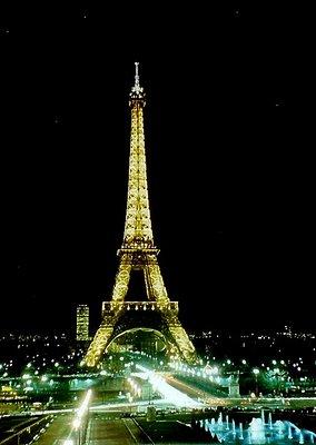 Glittering Eifel Tower