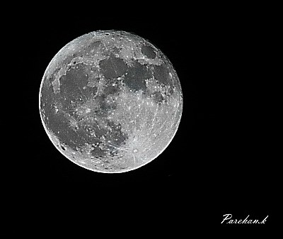 Our moon this night ..