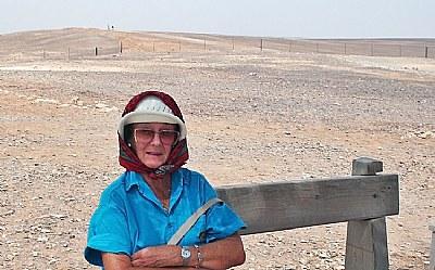 Desert & Visitor