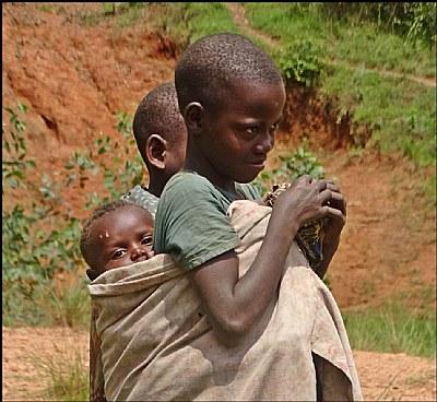 Children from Rwanda