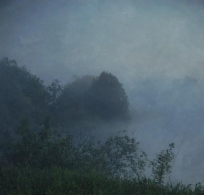 Night fog. (2)