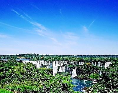 Blue Sky & Falls