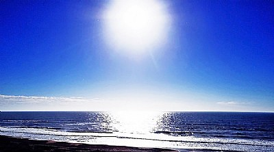 Sun & Blue Ocean