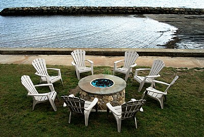 Chairs & Firepit