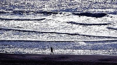 Beach & Man