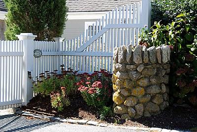 Gate & Flowers