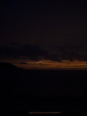 Sunset Christmas Island