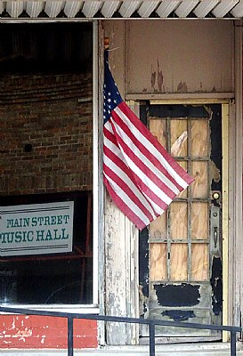 Flag & Door
